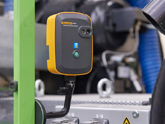 New Products for Engineers | Fluke 3550 FC Thermal Imaging Sensor