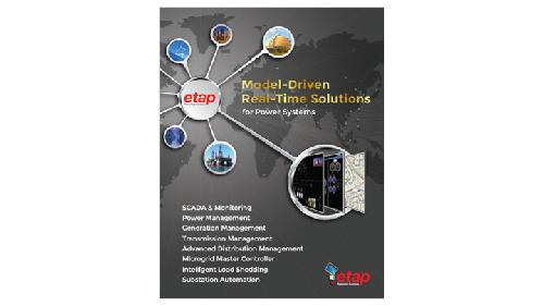 New Products for Engineers | ETAP® Real-Time™ - Model-Driven Real
