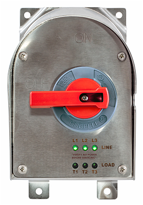 circuit lock 30a disconnects with led indicators hubbell wiring rh gspplatform cfemedia com Hubbell Wiring Devices Chart Hubbell Power Systems