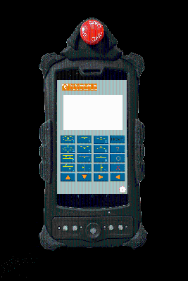 Products For Engineers | HMIQ Rugged Android HMI with E-stop